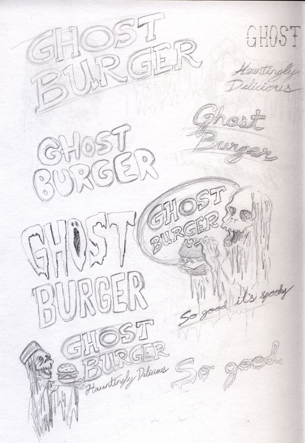 Ghost Burger - image 2 - student project