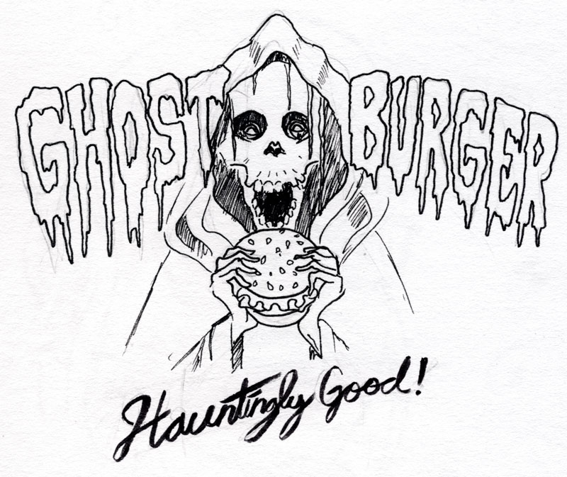 Ghost Burger - image 3 - student project