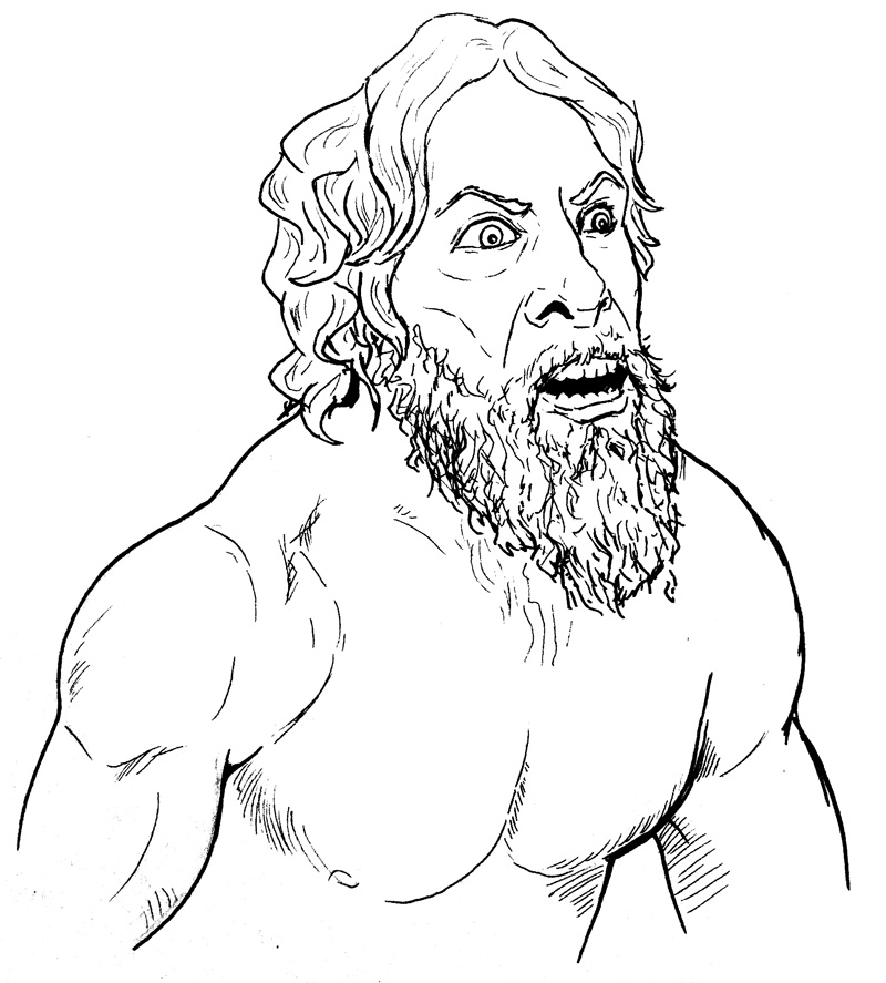 wwe daniel bryan coloring pages | Doodle-a-Day: November 18 | Ironclad Folly
